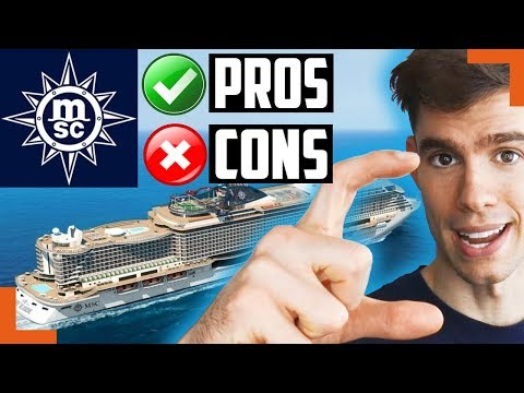 Pros and cons of cruise ship vacations