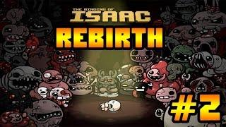Прохождение The Binding of Isaac: Rebirth - СЕРДЦЕ ОСТАНОВИЛОСЬ #2 [1-я Концовка]