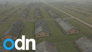 Auschwitz 70th anniversary: Drone footage shows scale of camp