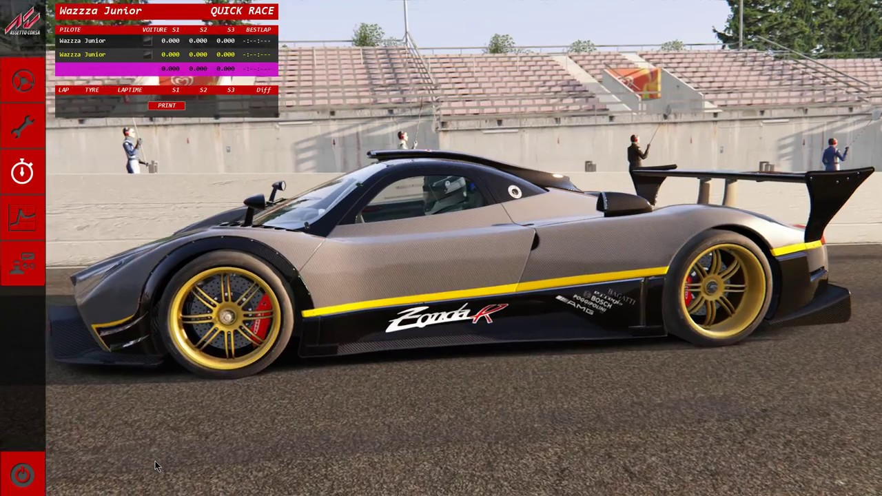 Assetto Corsa G29 - Pagani Zonda R - Race at Nürburgring - YouTube