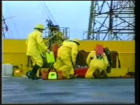 Beryl Field- 1980's Offshore Life - UK Industrial Film