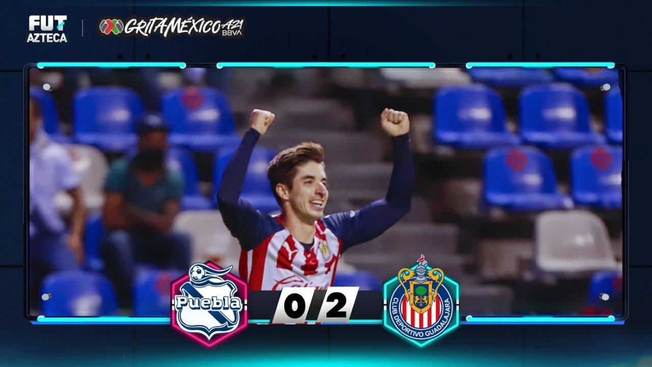Puebla 0-2 Chivas | Resumen | Jornada 2 | Liga BBVA MX