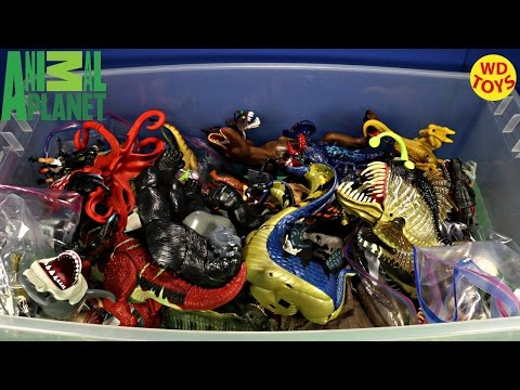 New Animal Planet Giant Box Surprise Toys Including Dinosaurs Jurassic Park Unboxing Top 10