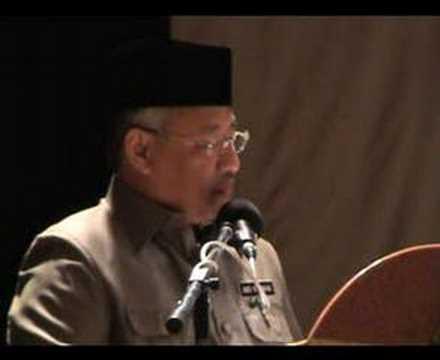 Majlis JAIS 8/1/07 Video 3 FITNAH SYIRIK Rahman Palil