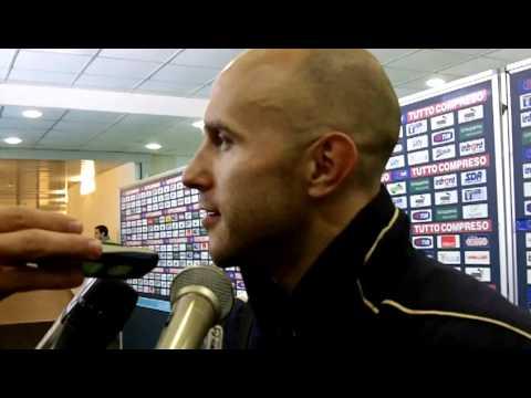 Lazio-Chievo 1-1 (06-02-2011) - Intervista Bresciano