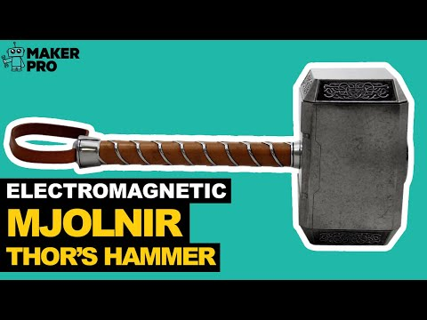 How to Make Thor's Hammer - Mjolnir from YouTube · High Definition · Duration:  10 minutes 43 seconds  · 115.000+ views · uploaded on 6-11-2015 · uploaded by Sufficiently Advanced