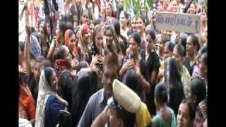 rally by kharva samaj (community) against jitu kuhada