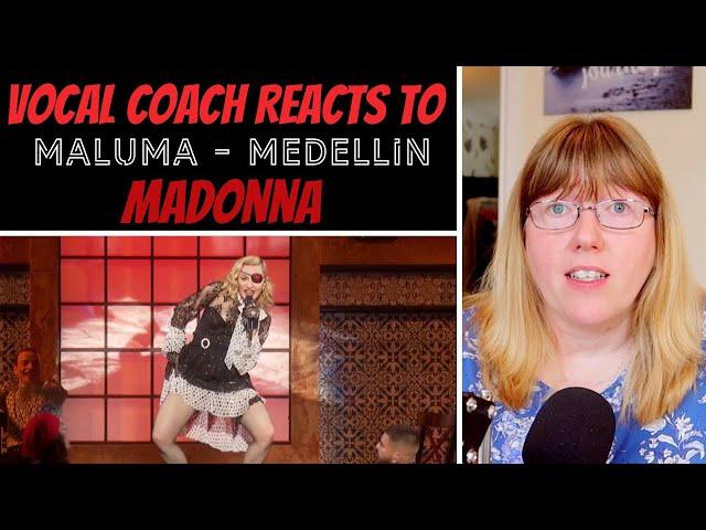 Vocal Coach Reacts to Madonna Maluma - Medelli�n Billboard Music Awards Performance