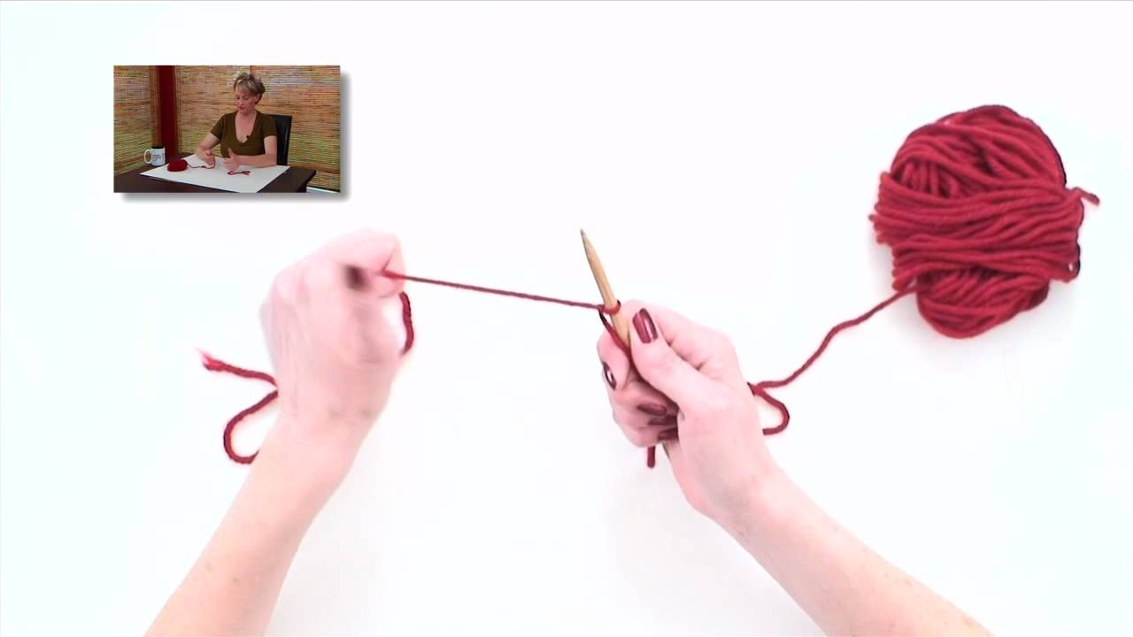 Knitting Long Tail Cast On Circular : Knitting help long tail cast on youtube
