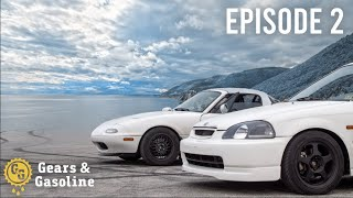 7,000 Mile Roadtrip in a Civic and Miata - Episode 2