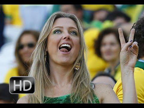 اجمل مشجعات كأس العالم في البرازيل 2014 ــ HD