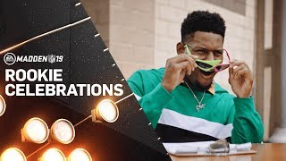 Madden 19 – Rookie Celebrations featuring Juju Smith-Schuster! thumbnail