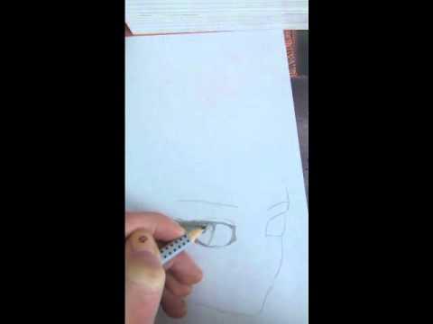 Anime-Augen zeichnen