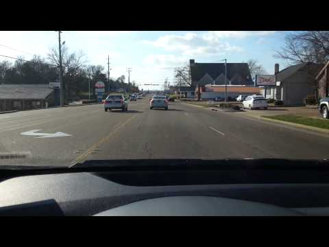 Driving in Tupelo, MS 2