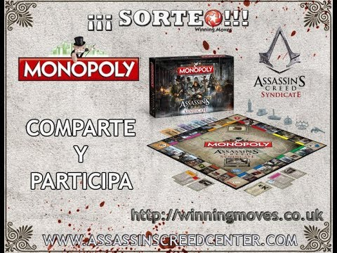 MONOPOLY Assassin's Creed Syndicate | 2017 | Unboxing y SORTEO