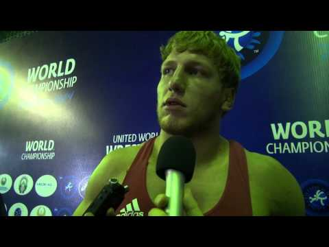 Artur ALEKSANYAN (ARM): Interview After His Gold Medal In Tashkent 2014