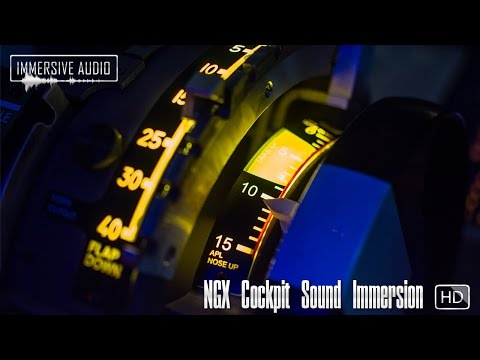 NGX Cockpit Sound Immersion - HD Soundpack [FSX/P3D] - Official Promo