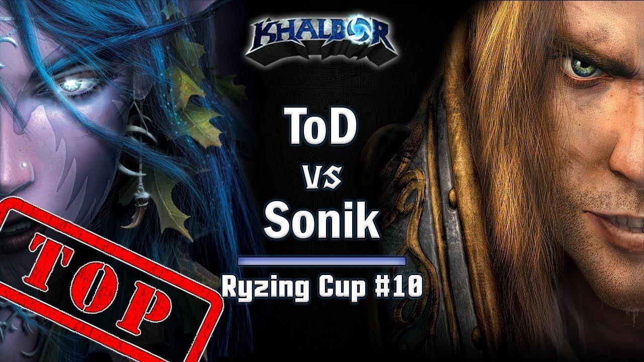 ► WarCraft 3 Reforged - ToD (HU) vs. Sonik (NE) - Ryzing Cup #10