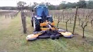 MOWER GL4/K - FOR THE V SHAPED PLANTATIONS