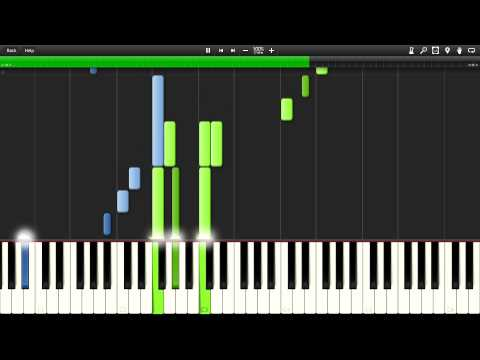 My Neighbor Totoro  Path of the Wind  Synthesia