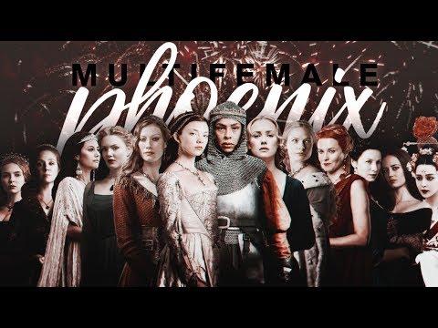 • like a phoenix [multiqueens & multifemale]
