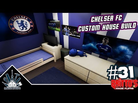 Chelsea FC Custom House Build - House Flipper #31