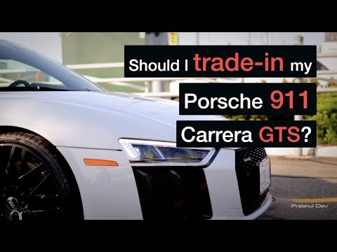 Should I trade-in my Porsche 911 GTS for a 2018 Audi R8 V10 Plus? | Vlog