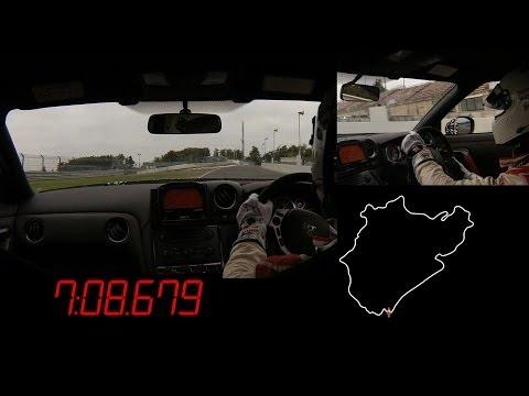 Michael Krumm Attacks Nürburgring in a Nissan GT-R NISMO