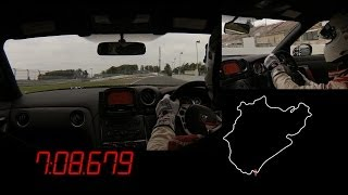 Michael Krumm Attacks Nürburgring in a Nissan GT-R NISMO