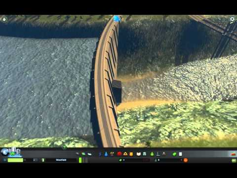 Cities: Skylines - Best place for a dam