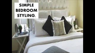 NEW!! UPDATED BEDROOM DECOR |  SIMPLE STYLING | NO MONEY USED |