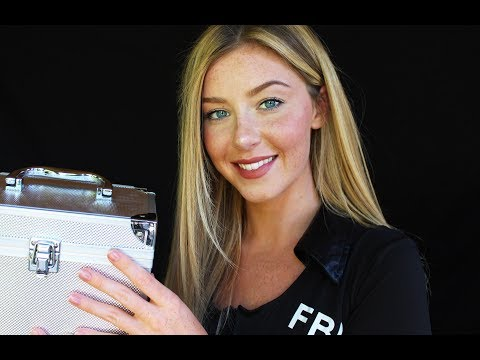 ASMR FBI Tingle Interrogation Roleplay | Ear to Ear Intense Sounds