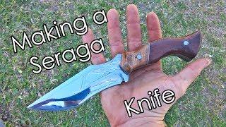 Fabricación de cuchillo Seraga