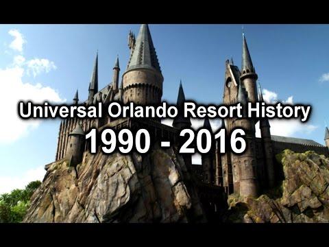 Universal Orlando Resort History 1990 - 2016