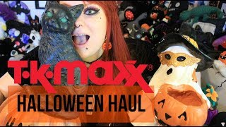 TKMAXX Halloween Haul 2018 - Boxes, Boxes and More Boxes