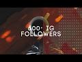 600+ Instagram followers! | Thank you!