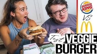 McDonalds VS Burger King | Wer hat den BESTEN Burger 🍔