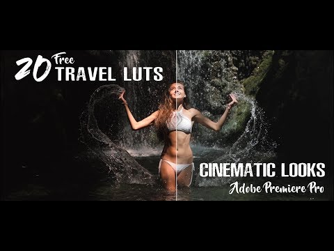 20 FREE Travel Luts For Cinematic Looks   Premiere Pro   Final Cut Pro