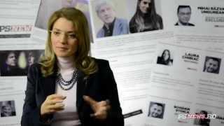 Alina Gorghiu despre Romania, cu Laura Chiriac