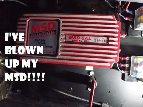Ive Blown Up My 6AL MSD !! - Vintage Steel Garage Ep23