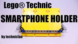 HOW TO BUILD:    Lego® Technic SMARTPHONE HOLDER  [ technicfan | 2018 | 1080p ]