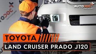 Wie Bremsscheibe LAND CRUISER (KDJ12_, GRJ12_) austauschen - Schritt-für-Schritt Video-Tutorial