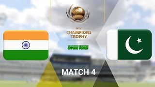 vuclip ICC CHAMPIONS TROPHY 2017 GAMING SERIES - INDIA v PAKISTAN - GROUP B MATCH 4