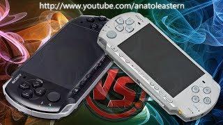 Сравнение PSP 2000 с PSP 3000