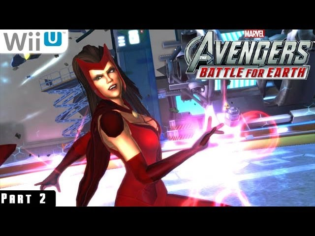 Marvel Avengers Battle For Earth Wiiu Gameplay 1080P Part 2 Baxter Building