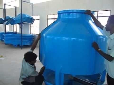 Assembly Instruction For GCT+(ECO) Cooling Tower-FRP Top Pannels Assy.(GEM Equipments (P) Ltd)
