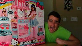 Hello Kitty Kitchen Cafe Unboxing + Toy Review! || Hello Kitty Toys || Konas2002