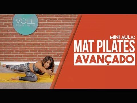 Mat Pilates Avançado