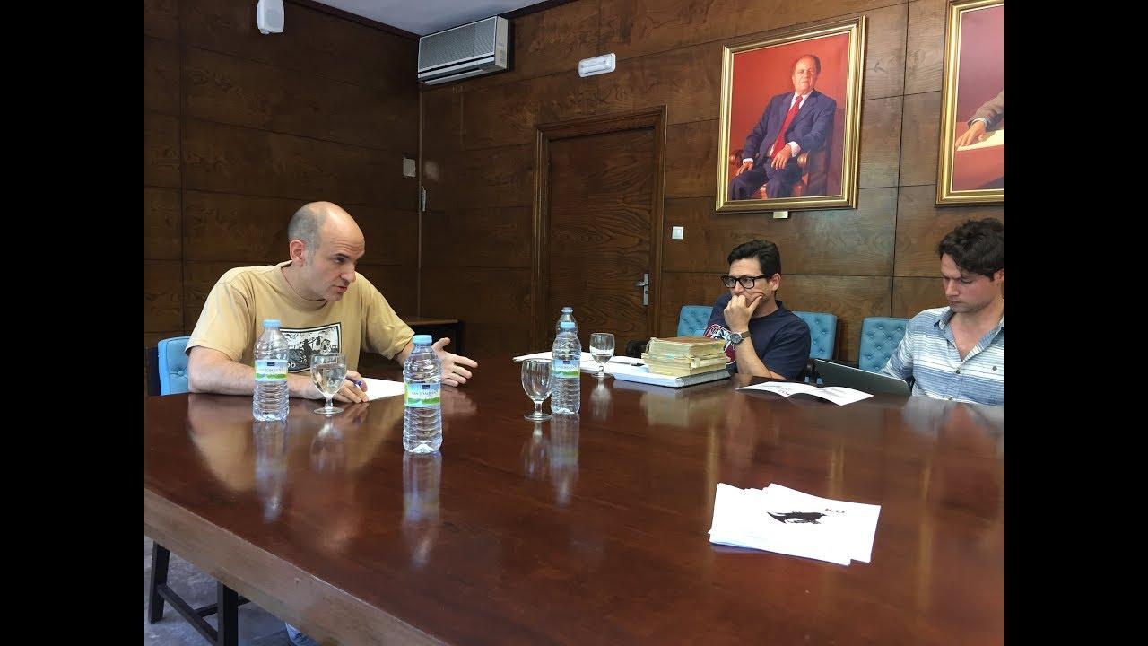 Congreso La Crítica del Juicio y la filosofía del s. XX, UCM - Massó, Ruiz Sanjuán, Marsá