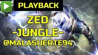 "LOG joaca - League of Legends ZED ""JUNGLE"" [RO]"